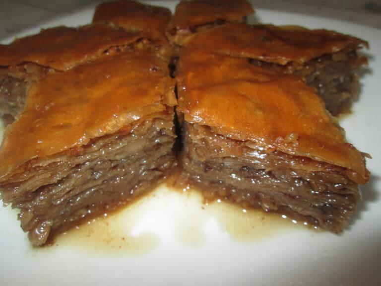 Starinski recept za baklavu